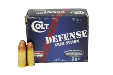 Colt 9mm 124 gr Jacket Hollow Point Defense Ammunition 20/Box