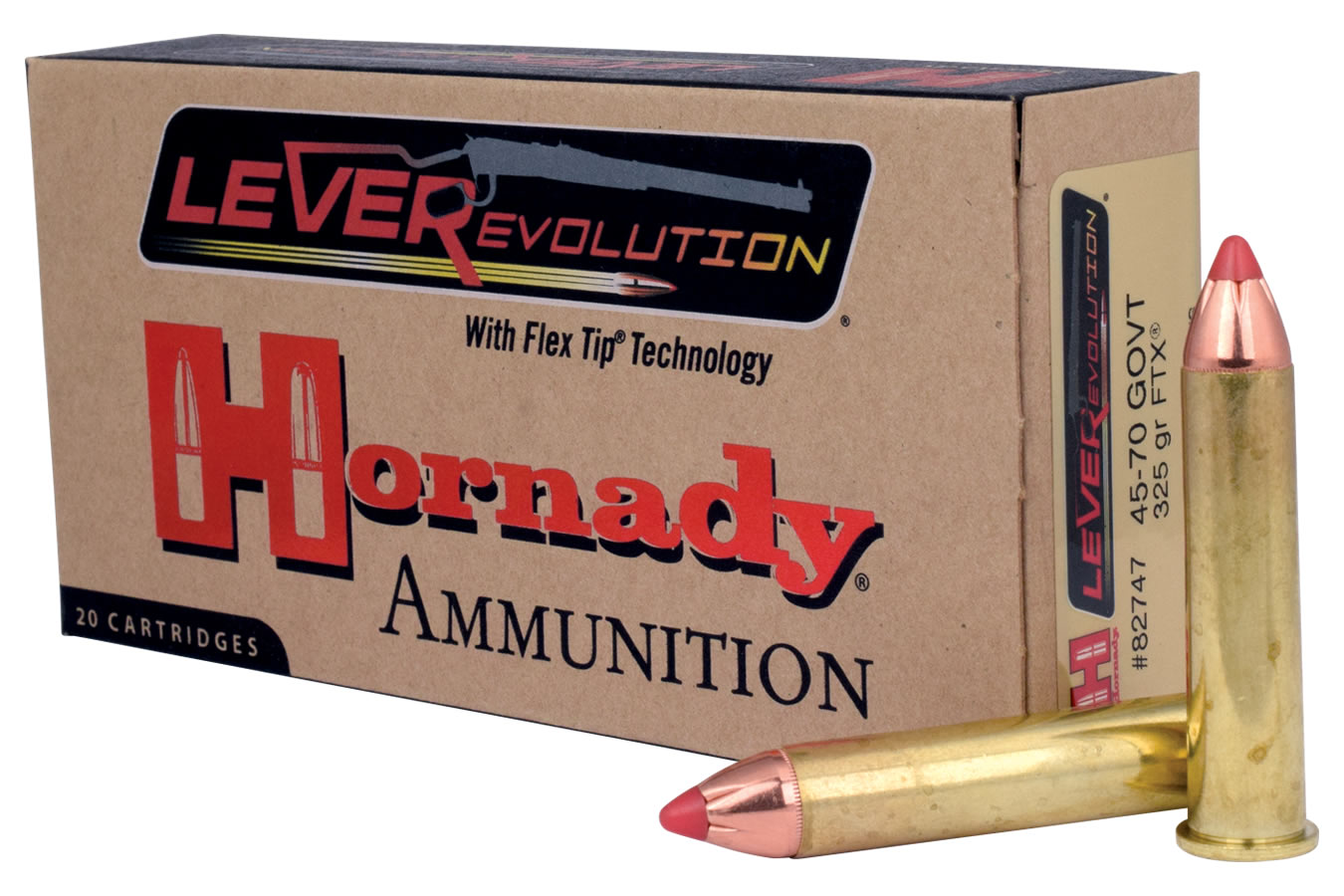 45-70 GOVT 325 GR FTX LEVEREVOLUTION