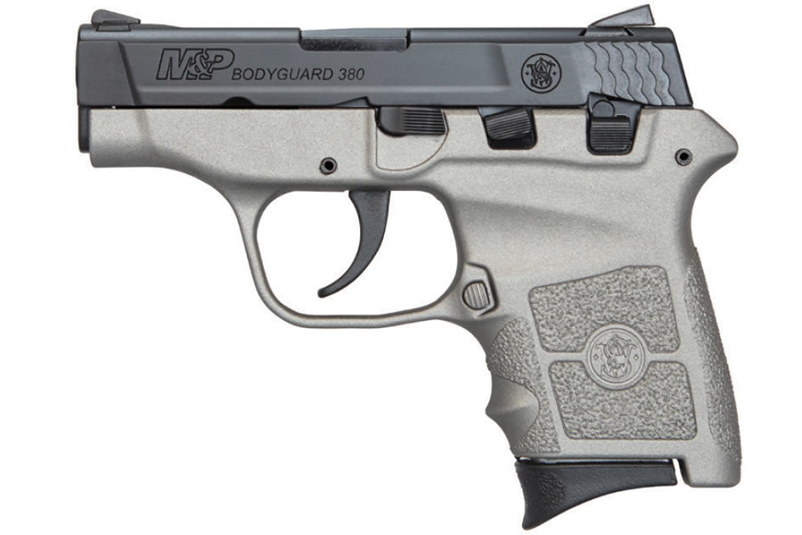 M&P Bodyguard 380 Carry Conceal Pistol with H152 Stainless Cerakote Finish