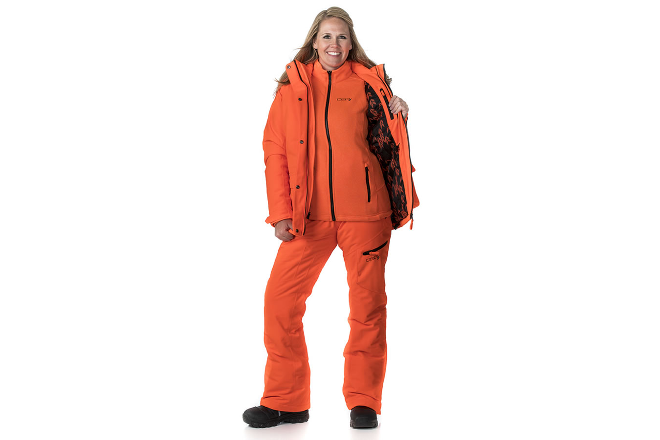 3b6242b4c43e1 Dsg Outerwear Kylie 3-in-1 Hunting Jacket - Blaze Orange- Small ...