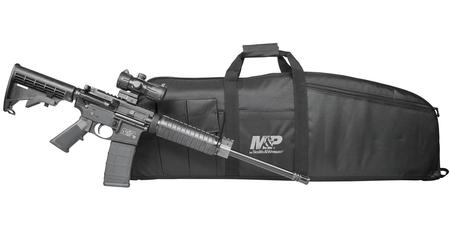 SMITH AND WESSON MP15 SPORT II 5.56MM W/ GUN CASE/RED DOT