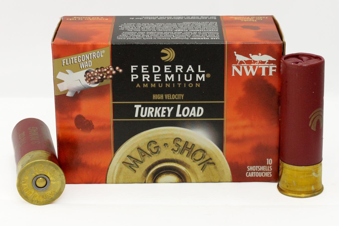 12 GA 3 in 1 3/4 oz 5 Shot Mag-Shok Turkey 10/Box