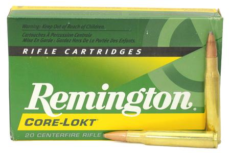 REMINGTON 30-06 Springfield 180 gr Core-Lokt PSP 20/Box