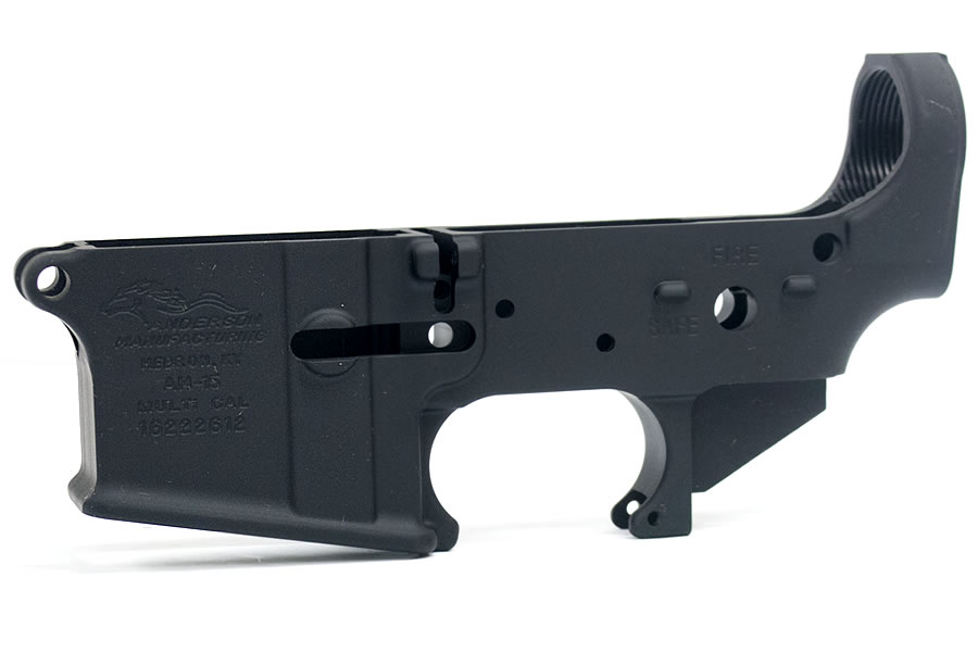 No. 3 Best Selling: ANDERSON MANUFACTURING AM-15-A3 STRIPPED LOWER 7075-T6 223/5.56