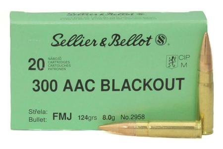 300 BLACKOUT 124 GR FMJ 20/BOX