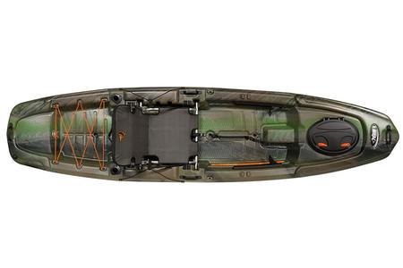Pelican Boats Kayak The Catch 120 Fade Olive Camo