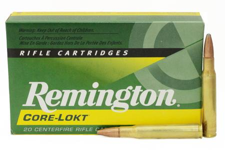 REMINGTON 30-06 Springfield 165 gr Core-Lokt PSP 20/Box
