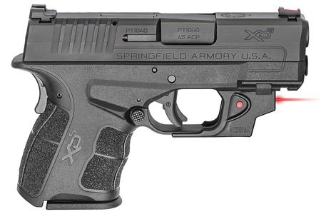 SPRINGFIELD XDS MOD.2 3.3 45 ACP WITH VIRIDIAN LASER