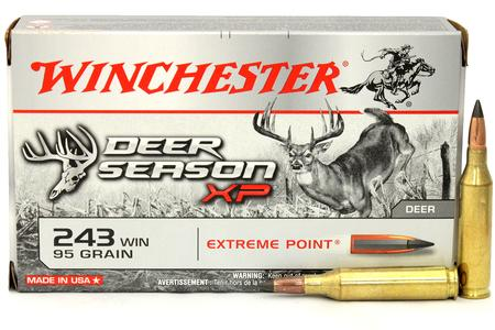 Winchester 243 Win 95 gr Extreme Point Polymer Tip 20/Box