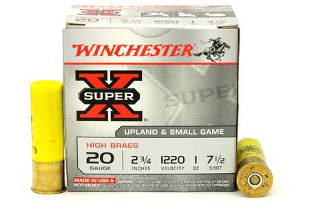 WINCHESTER AMMO 20 GA 2-3/4 in 1 oz Shot Super-X 25/Box