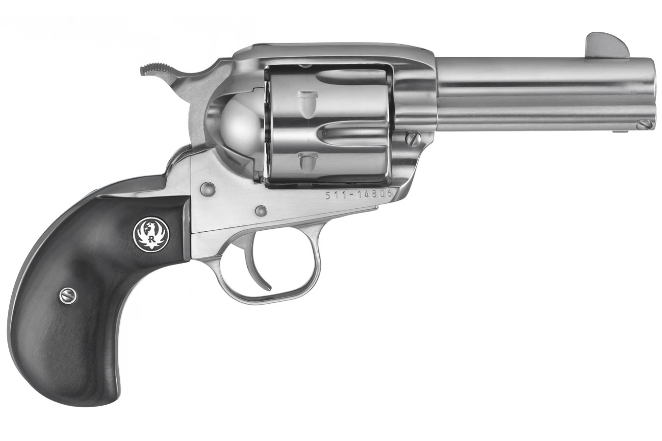 Vaquero Stainless 45 ACP Single-Action Revolver with Birdshead Grips