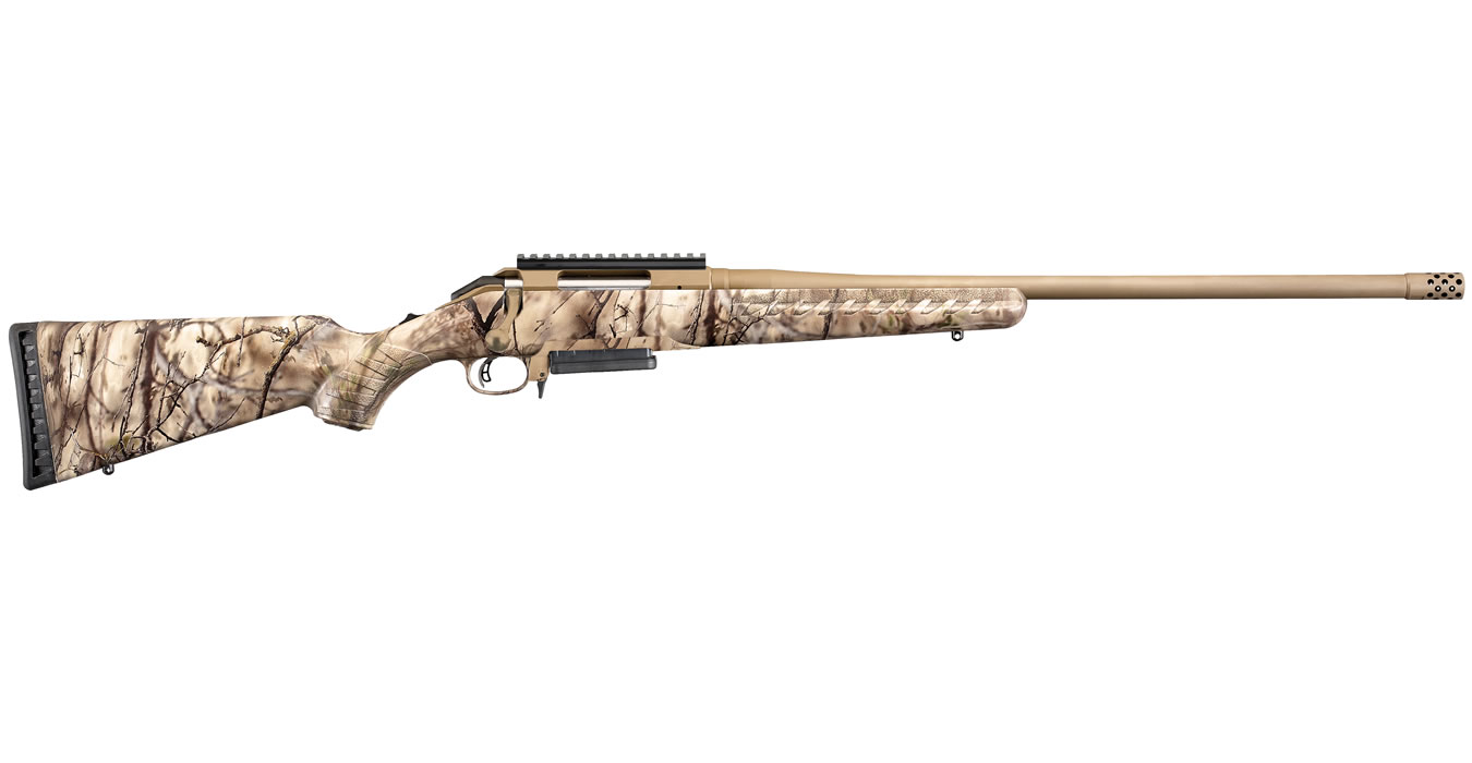 Ruger American Rifle 65 Creedmoor With Gowild I M Brush Camo Stock
