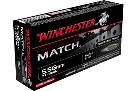 5.56MM 77 GR MATCH BTHP 20/BOX