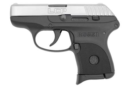 RUGER LCP 380 ACP WITH STAINLESS SLIDE