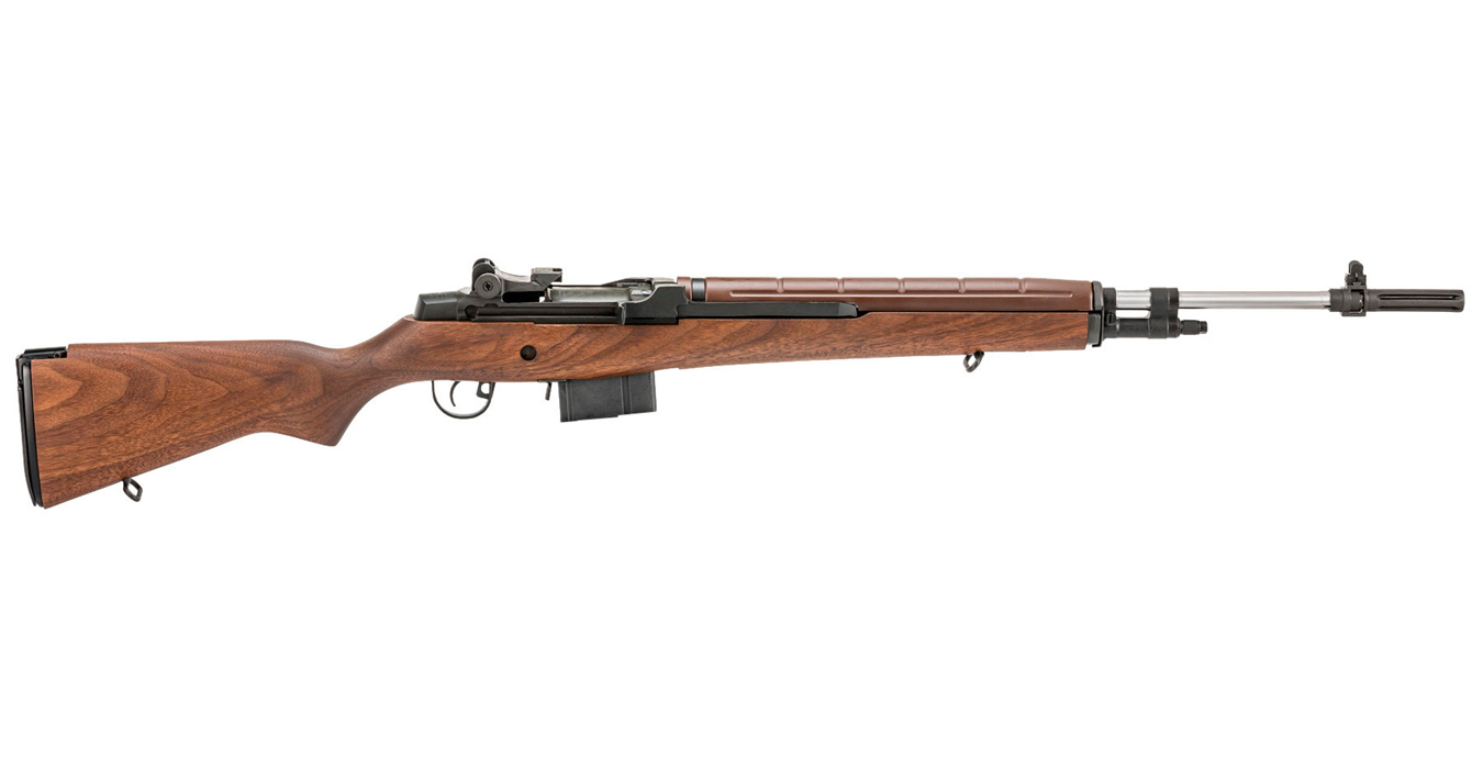 M1A LOADED 308 WALNUT STAINLESS STEEL