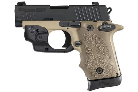 SIG SAUER P238 COMBAT TWO-TONE 380 ACP W/SIG LASER