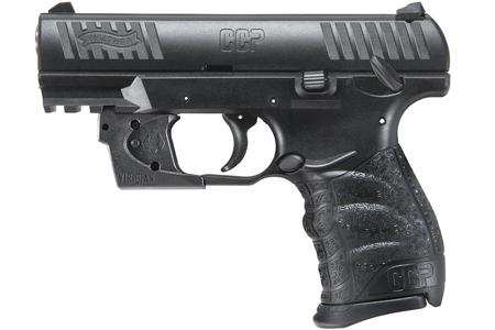 WALTHER CCP 9MM WITH VIRIDIAN RED LASER