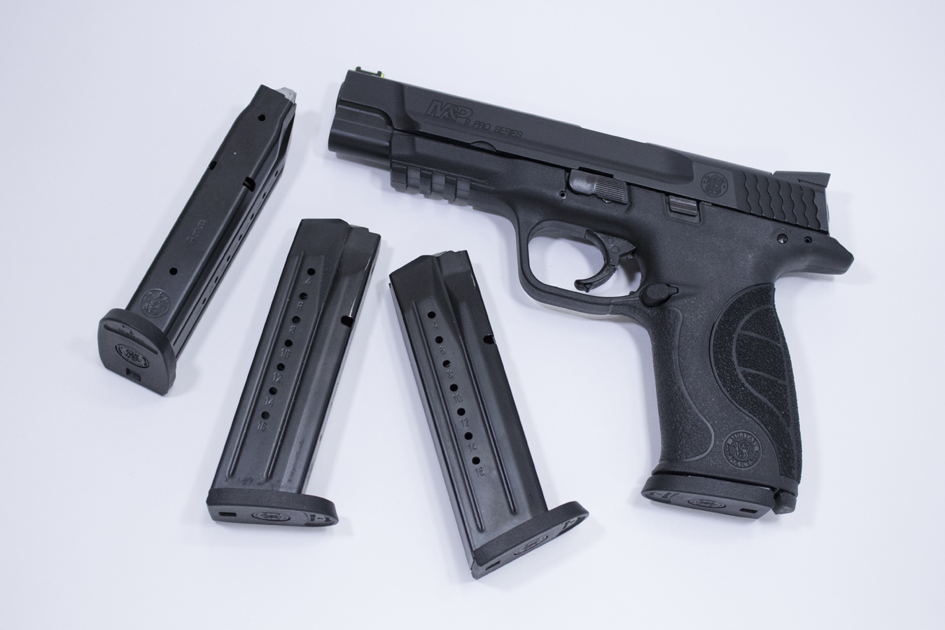 Smith & Wesson M&P9 Pro Series 9mm Used Pistols With Four