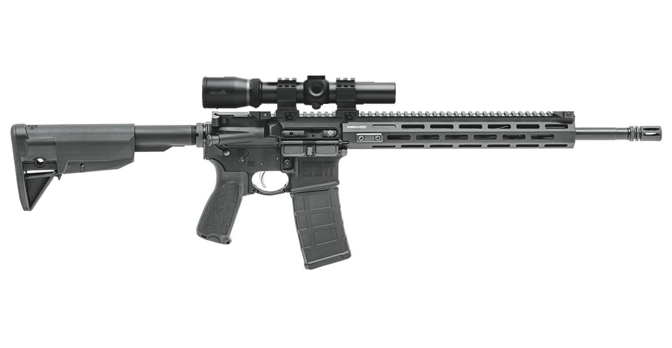 springfield saint 5 56mm free float handguard semi auto rifle with