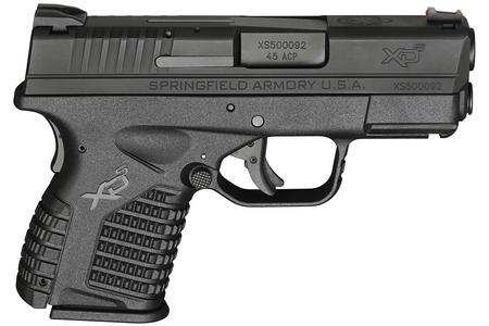 New Model: SPRINGFIELD XDS 3.3 SINGLE STACK 45ACP BLACK