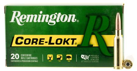 Remington 6.5 Creedmoor 140 gr Pointed Soft Point Core-Lokt 20/Box