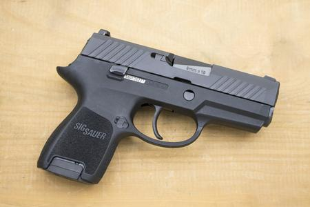 SIG SAUER P320 SUBCOMPACT 9MM POLICE TRADES (VG)