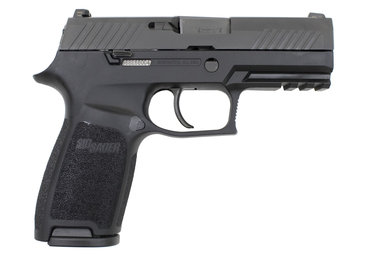 Sig Sauer P320 Carry 9mm Striker Fired Pistol With 3