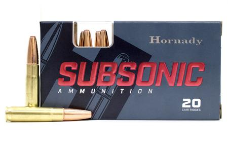 HORNADY 300 BLACKOUT 190 GR SUB-X SUBSONIC TAP