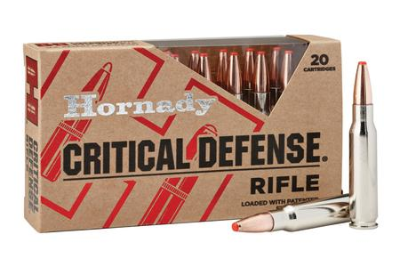 Hornady 308 Win 155 gr Critical Defense FTX 20/Box
