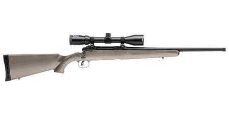 Savage Arms Axis II 6.5 Creedmoor 22in Threaded Barrel 4rd 3-9X40mm Scope Synthetic Stock FDE 18441