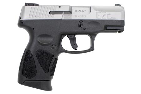 TAURUS G2C 9MM SUB-COMPACT WITH STAINLESS SLIDE