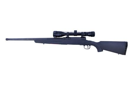 SAVAGE AXIS II XP 223 REM 4-12X40 HB BLK STOCK