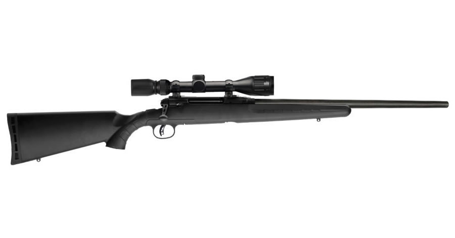 AXIS II 243 WIN HEAVY BARREL 4-12X40