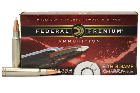 Federal 338 Win Mag 225 gr Nosler Accubond 20/Box