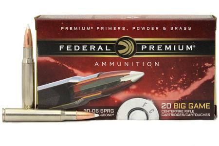 FEDERAL AMMUNITION 30-06 Springfield 150 gr Nosler Accubond 20/Box