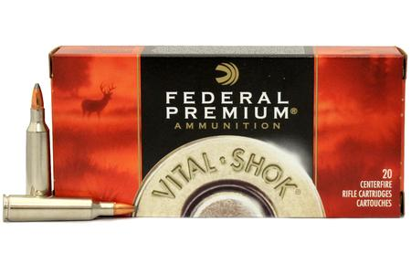 FEDERAL AMMUNITION 22-250 Remingon 60 gr Nosler Partition Vital-Shok 20/Box