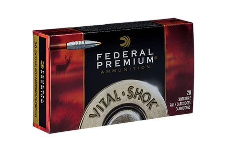 Federal 7mm-08 Rem 140 gr Trophy Bonded Tip Vital-Shok 20/Box