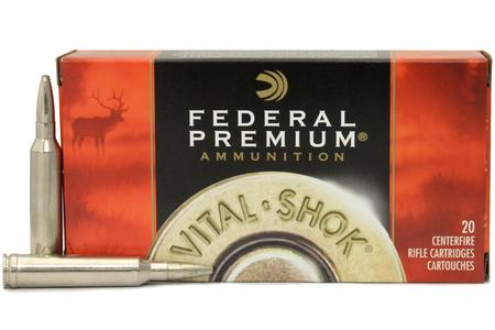FEDERAL AMMUNITION 7mm Rem Mag 175 gr Vital Shok Trophy Bonded Bear Claw Vital Shok 20/Box