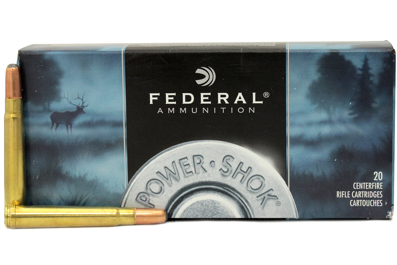 FEDERAL AMMUNITION 375 HH MAG 300 GR SP POWER-SHOK