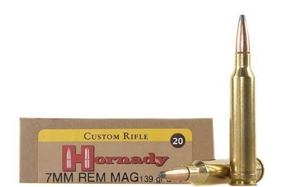 7MM REM MAG 139 GR BTSP