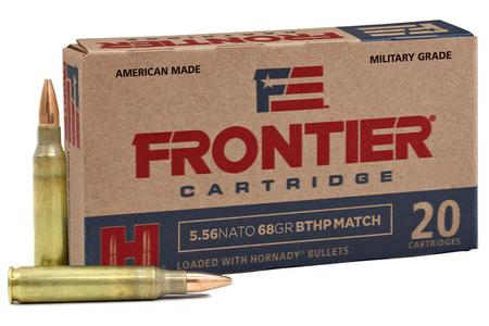 Hornady 5.56 NATO 68 gr BTHP Match Frontier 20/Box