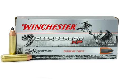 WINCHESTER AMMO 450 Bushmaster 250 gr Deer Season XP Extreme Point 20/Box