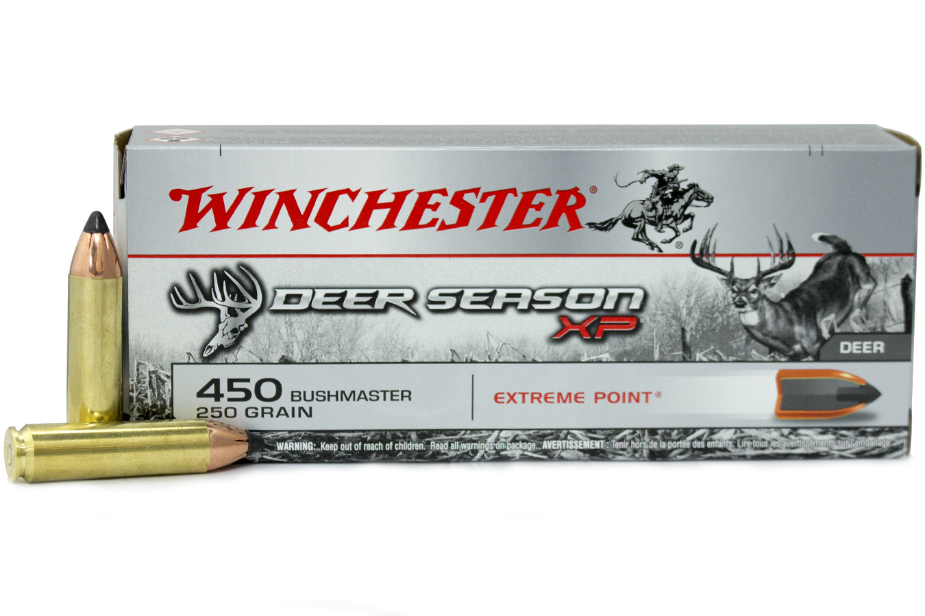 450 BUSHMASTER 250 GR DEER SEASON XP