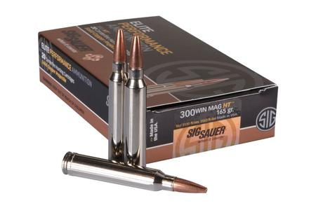 SIG SAUER 300 Win Mag 165 gr Elite Hunting HT 20/Box