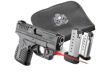 SPRINGFIELD XDS 3.3 45 ACP WITH VIRIDIAN LASER