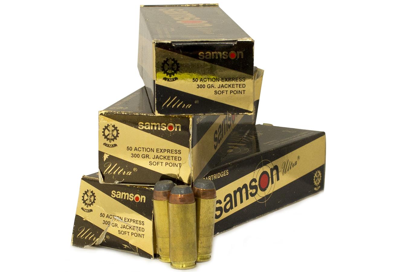 Lot of Samson Ultra 50 AE Ammunition (60 Rounds)