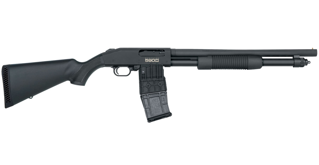No. 12 Best Selling: MOSSBERG 590M 12 GA MAG-FED PUMP-ACTION SHOTGUN