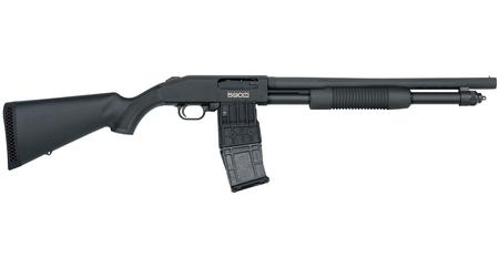 MOSSBERG 590M 12 GA MAG-FED PUMP-ACTION SHOTGUN