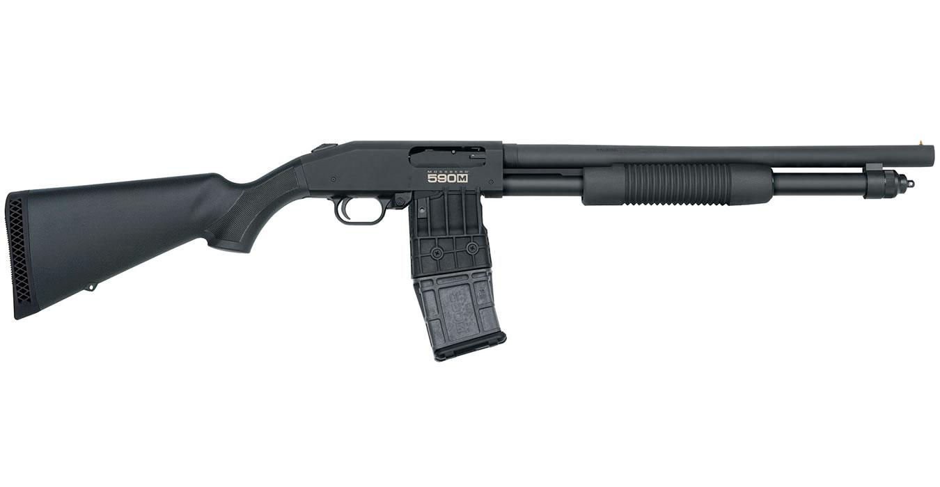 590M 12 Gauge Mag-Fed Pump-Action Shotgun with 10 Round Magazine