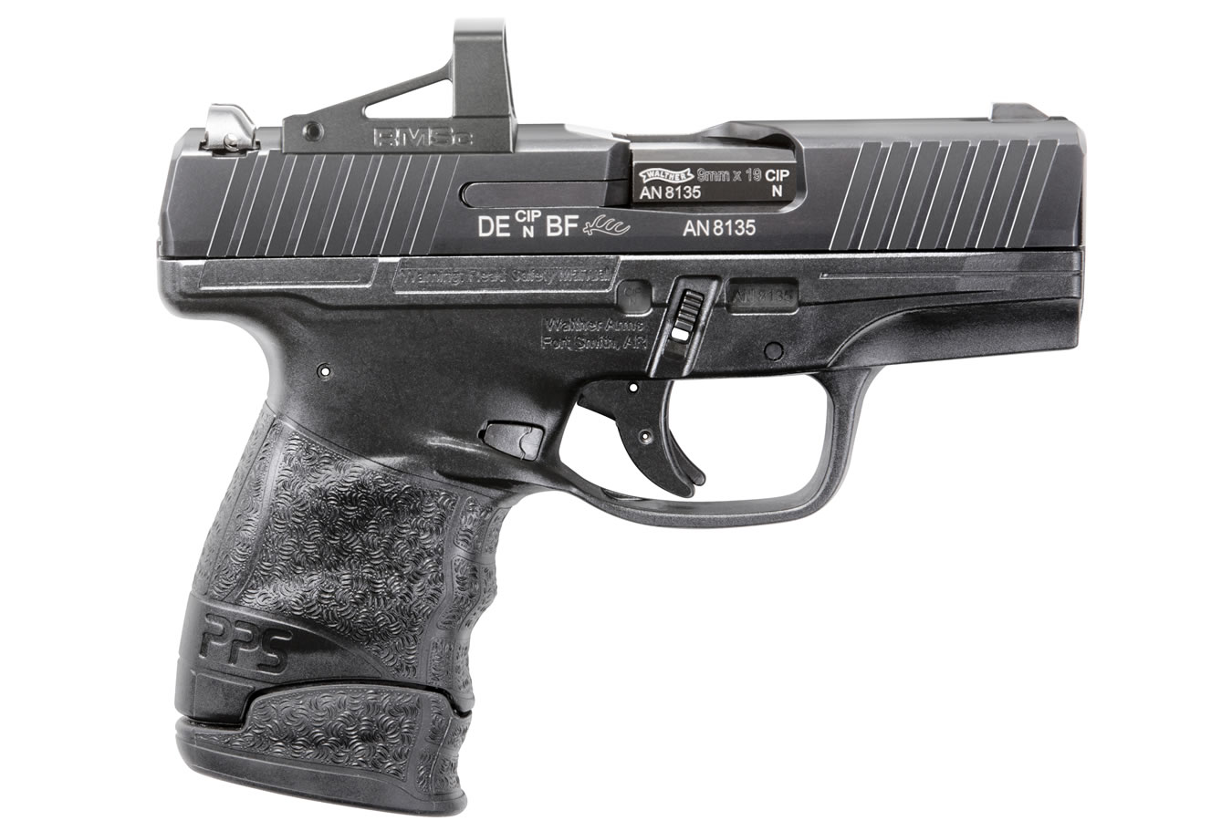 PPS M2 9mm with RMSC Shield Optic